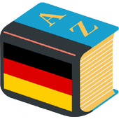 German explanatory dictionary. Words definitions icon