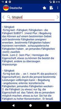 German explanatory dictionary. Words definitions screenshot 2