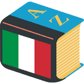 Italian Explanatory Dictionary. Words definitions icon