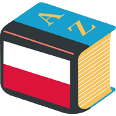 Polish explanatory dictionary. Words definitions icon