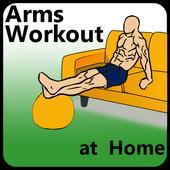 30 days arm workout challenge icon