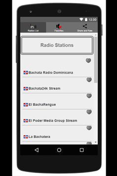 Bachata Music Free Radio poster