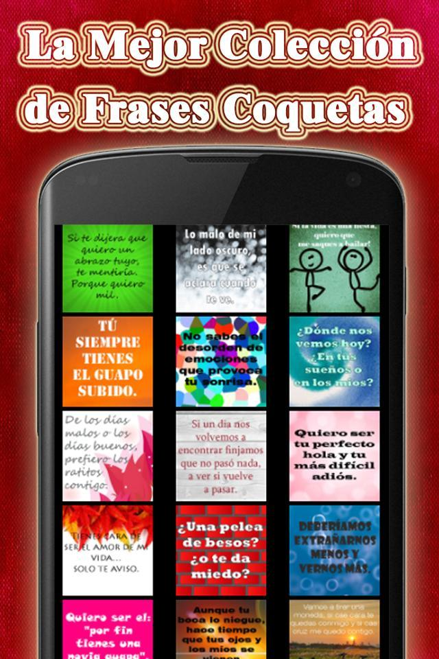 Frases Coquetas For Android Apk Download