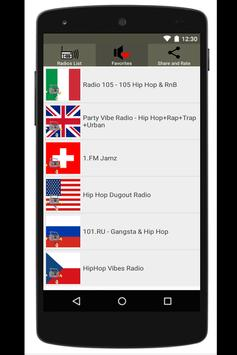 Radio Hip Hop Rap Hip Hop Trap Rap captura de pantalla de la apk