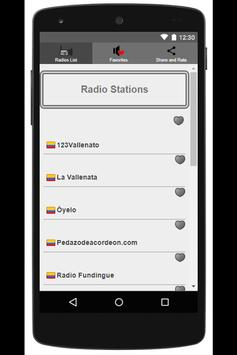 Vallenato Music Radio poster