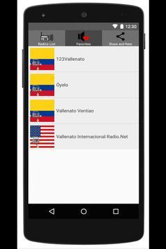 Vallenato Music Radio screenshot 1