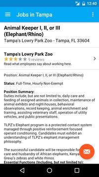 Jobs in Tampa, FL, USA apk screenshot