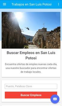 Empleos en San Luis Potosi poster