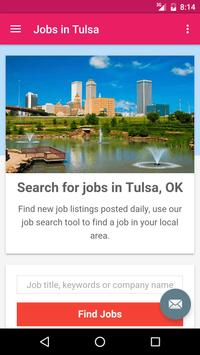 Jobs in Tulsa, OK, USA poster