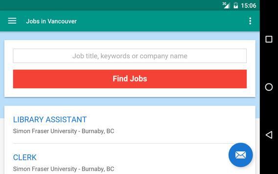 Jobs in Vancouver, Canada screenshot 6