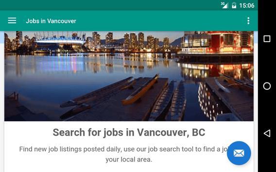 Jobs in Vancouver, Canada apk screenshot
