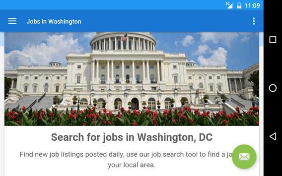 Jobs in Washington, DC, USA screenshot 4