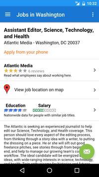 Jobs in Washington, DC, USA screenshot 3