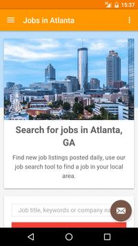 Jobs in Atlanta, GA, USA poster