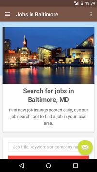 Jobs in Baltimore, MD, USA poster