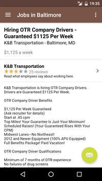 Jobs in Baltimore, MD, USA apk screenshot