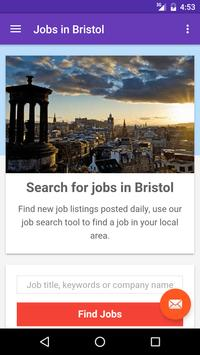 Jobs in Bristol, UK poster