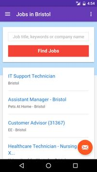 Jobs in Bristol, UK apk screenshot