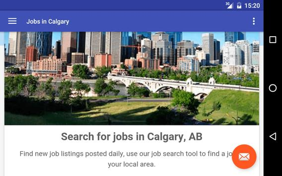 Jobs in Calgary, Canada apk screenshot