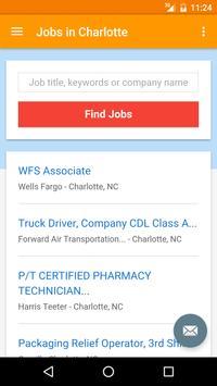 Jobs in Charlotte, NC, USA apk screenshot