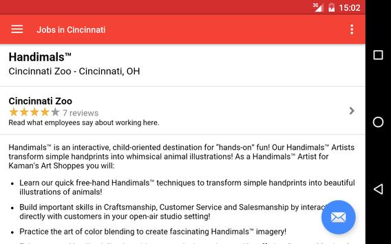 Jobs in Cincinnati, OH, USA apk screenshot