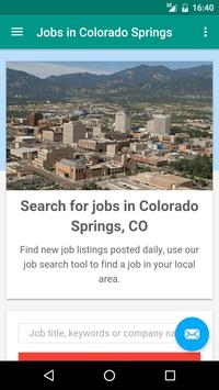 Jobs in Colorado Springs, CO poster