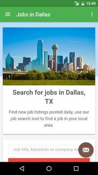 Jobs in Dallas, TX, USA poster