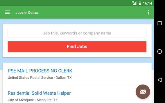 Jobs in Dallas, TX, USA apk screenshot