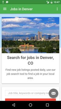 Jobs in Denver, CO, USA poster