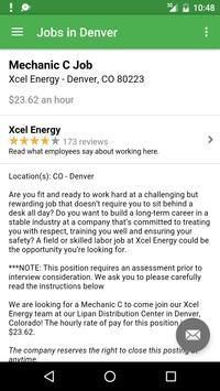 Jobs in Denver, CO, USA apk screenshot