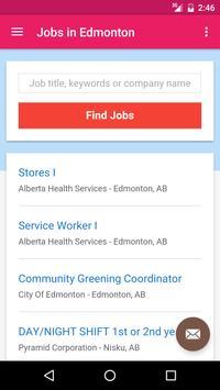 Jobs in Edmonton, Canada apk screenshot