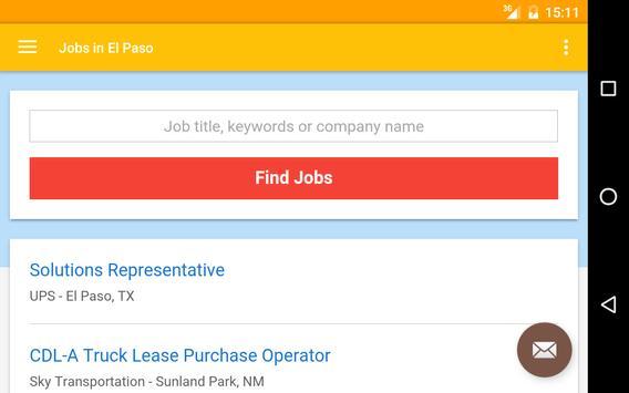 Jobs in El Paso, TX, USA apk screenshot