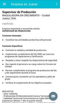 Empleos en Juarez, Mexico screenshot 3