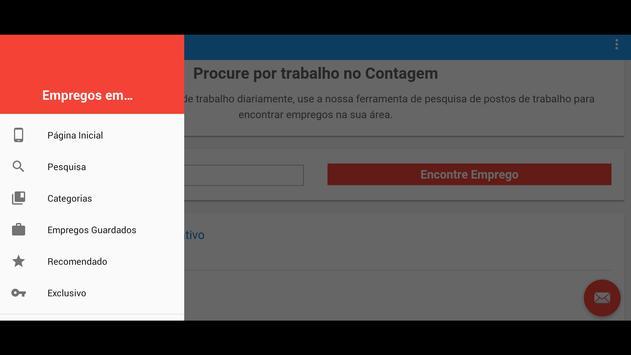 Empregos em Contagem apk screenshot