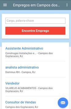 Empregos Campos dos Goytacazes screenshot 1