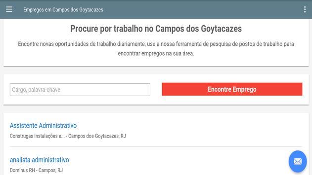 Empregos Campos dos Goytacazes screenshot 4