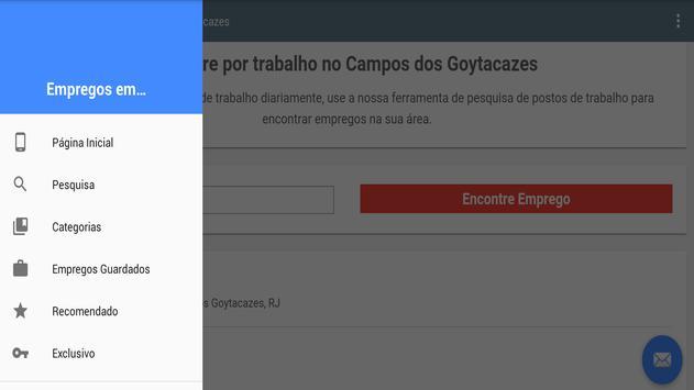 Empregos Campos dos Goytacazes screenshot 5