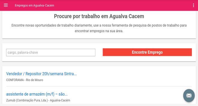 Empregos em Agualva-Cacém screenshot 4