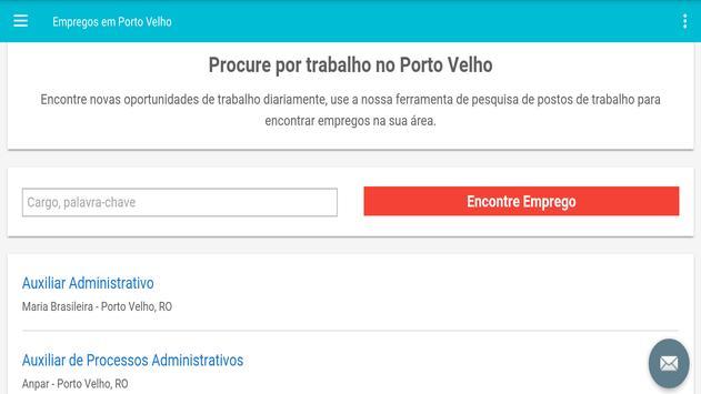 Empregos em Porto Velho screenshot 4