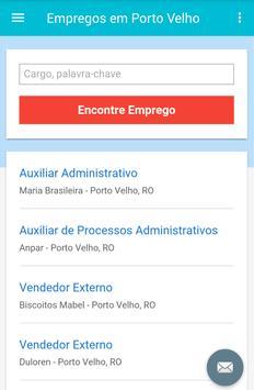 Empregos em Porto Velho screenshot 1