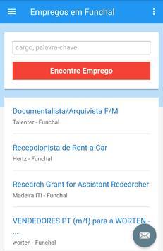 Empregos em Funchal screenshot 2