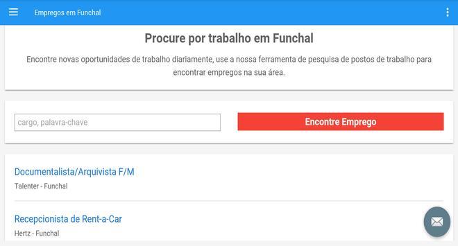 Empregos em Funchal screenshot 4