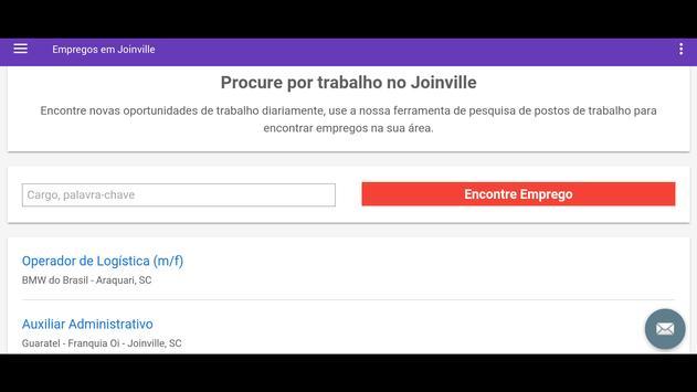 Empregos em Joinville, Brasil screenshot 4