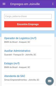 Empregos em Joinville, Brasil screenshot 2