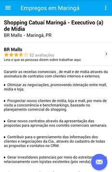 Empregos em Maringá, Brasil screenshot 3