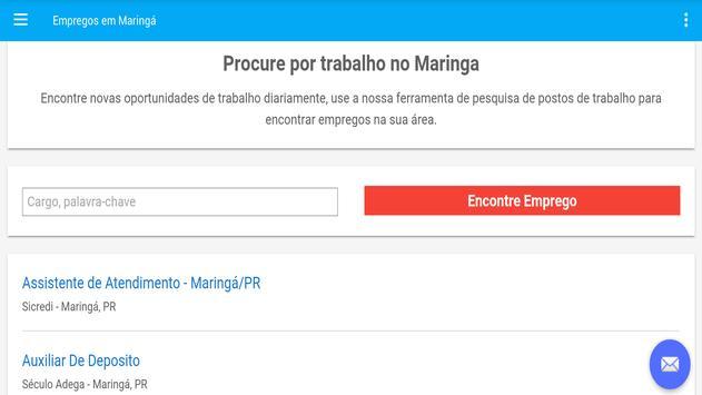 Empregos em Maringá, Brasil screenshot 4