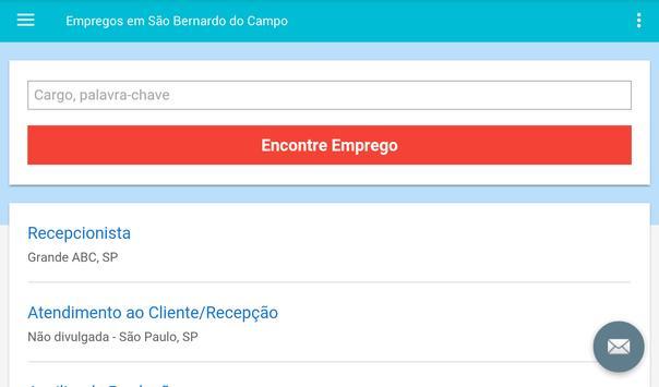 Empregos em São Bernardo screenshot 6