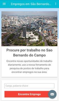 Empregos em São Bernardo poster