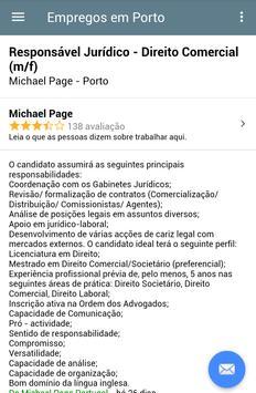 Empregos em Porto screenshot 3