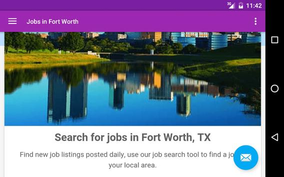 Jobs in Fort Worth, TX, USA apk screenshot